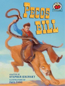 Pecos Bill on cougar