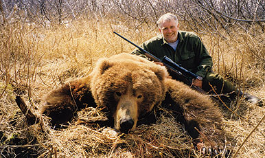 All bears are built stout, but coastal grizzlies--or brown bears, as they are commonly called--are more than stout, they are built like tanks.