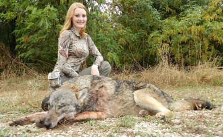 Brittany and her European Wolf