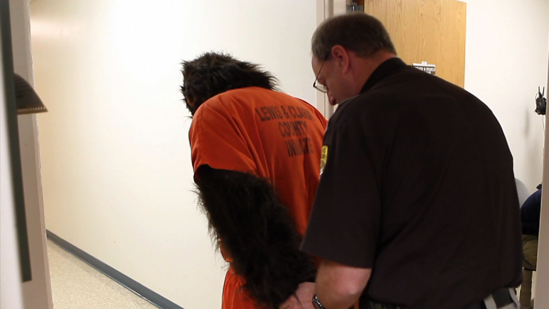 Bigfoot Caught on Tape: County Jail