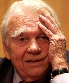 How do I say this without sounding like that crusty, old, curmudgeon Andy Rooney? Is he even