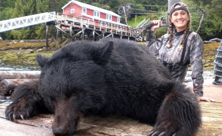 Alaska Spot and Stalk 7-Foot Black Bear-Predator Calling