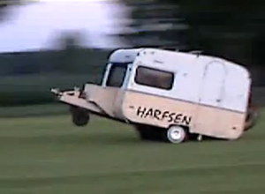 Redneck Moment of the Week: Oct. 31, 2011  Talk about your motor homes.  OK, it's not as big and