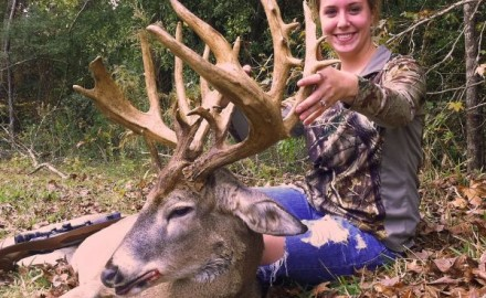 Jacey Broussard doesn't mess around when it comes to big bucks.  The Louisiana native had just