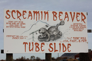Awesome Redneck Moment of the Week: Oct. 17, 2011  We won't say the Screamin' Beaver Tube Slide