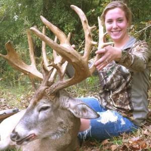 Jacey Broussard buck
