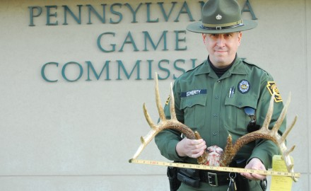 When are poachers going to learn that crime doesn't pay?  One Pennsylvania man didn't learn soon