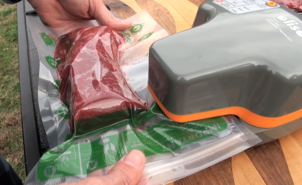 The Oliso Pro Vacuum Sealer might just be revolutionary for the hunter who packages their own game