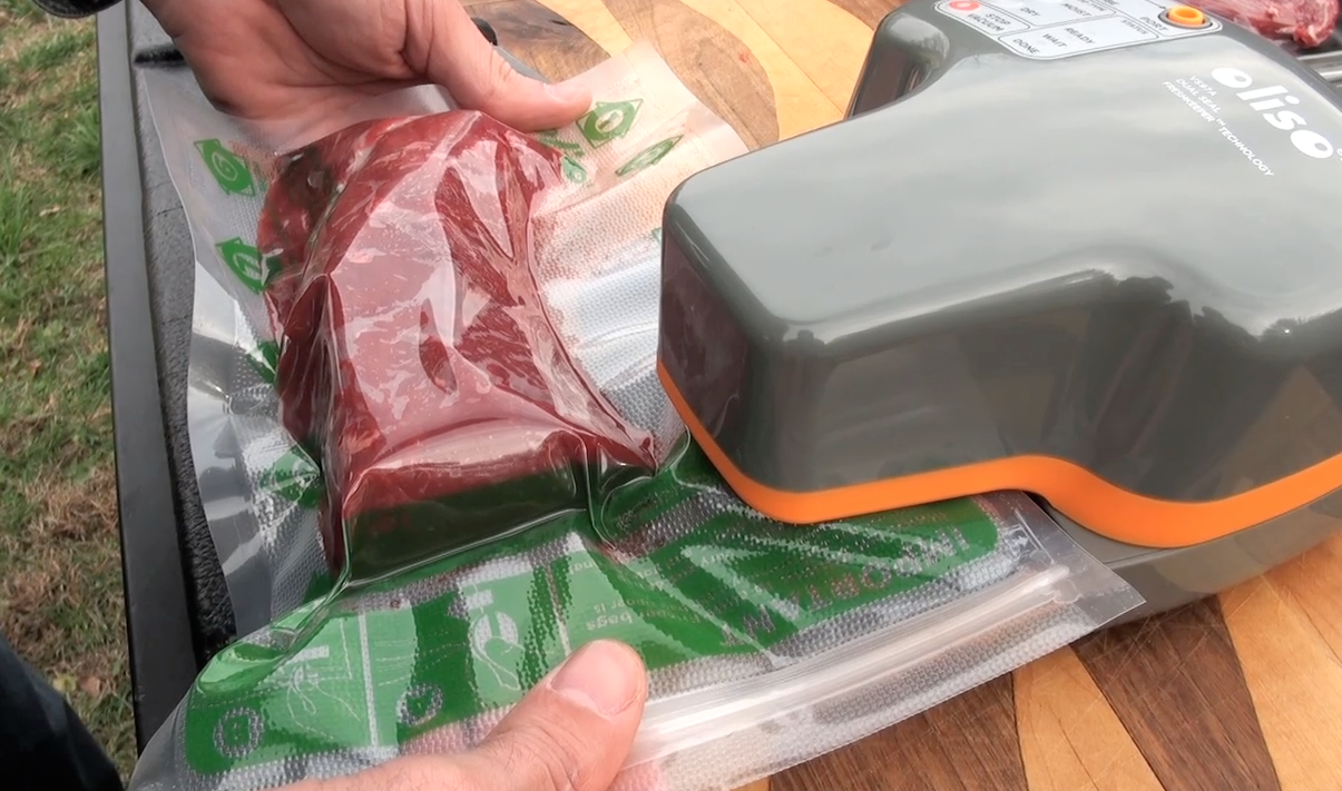 The Oliso Pro Vacuum Sealer for Game Meat