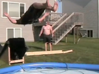 Redneck waterslide