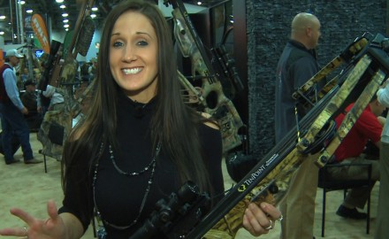 Tenpoint just introduced the new Carbon Elite XLT and Melissa Bachman was on the ATA floor to