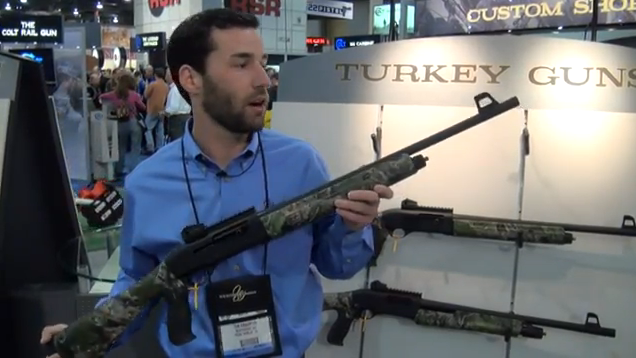Introducing the Weatherby SA459 Turkey Shotgun