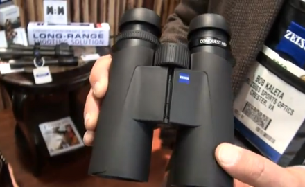 Zeiss rolled out its latest series of binoculars at SHOT Show 2012 in Las Vegas, rolling out the