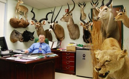 Chances are your office pales in comparison to Petersen's Hunting editor-in-chief Mike Schoby's.