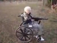 Machine gun granny