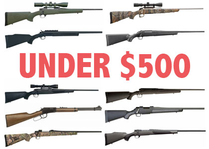10 Quality Deer Rifles for Under $500
