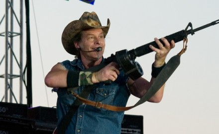 Ted Nugent is crazy. We've all said it once or twice (or ten times) in our lives.  Whether you love