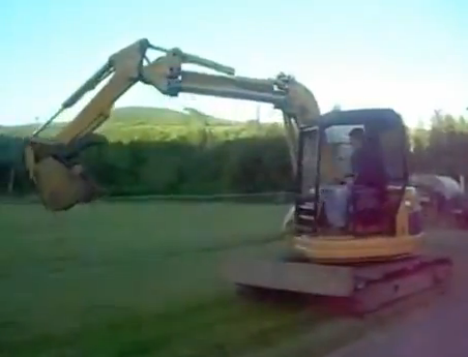 Redneck Amusement Park Ride Will Save a Few Bucks