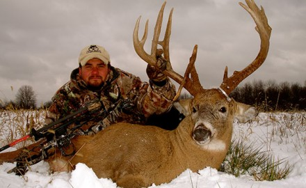 I'm not going to lie: I'm not crazy about hunting deer during the late season. The weather is