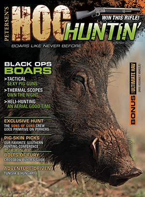 Petersen's Hog Huntin' Winter 2012