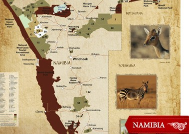 Then South West Africa, Namibia was a very quiet and little-known backwater when I first hunted