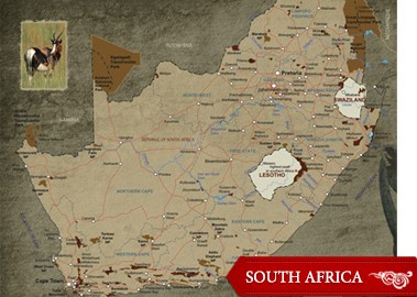 South Africa has the largest hunting industry on the African continent and hosts possibly 40