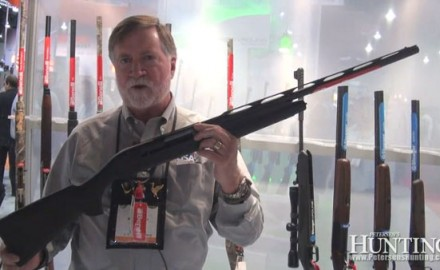 Benelli was at the 2013 SHOT Show in Las Vegas to show off their new M2 Field compact shotgun,