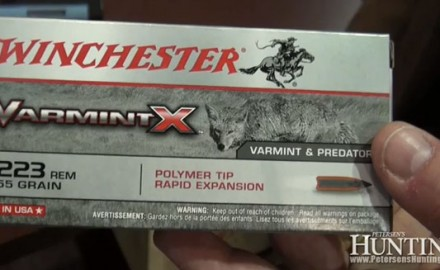Winchester was at the 2013 SHOT Show in Las Vegas for the launch of their new Varmint X ammunition