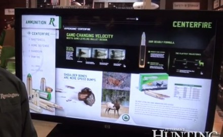 Remington was at the 2013 SHOT Show in Las Vegas to launch their new Hypersonic bonded ammunition,