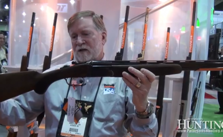 Franchi rolled out its latest over-under shotgun at the 2013 SHOT Show in Las Vegas, introducing