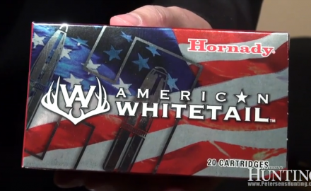 Hornady rolled out its brand new line of ammunition, Hornady American Whitetail ammo, during the