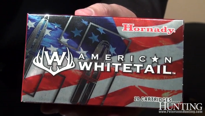Introducing Hornady American Whitetail Ammo