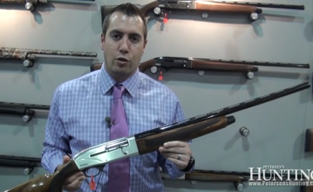 TriStar introduced its brand new semi-auto shotgun at the 2013 SHOT Show in Las Vegas, the TriStar