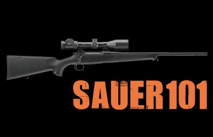 New for 2013, Sauer launched the new 101 with the slogan: