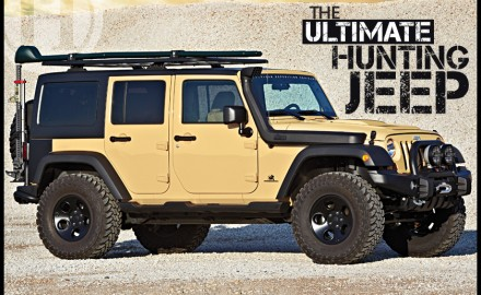 The 2013 Jeep Wrangler makes a nearly ideal platform for the for the Western hunter.