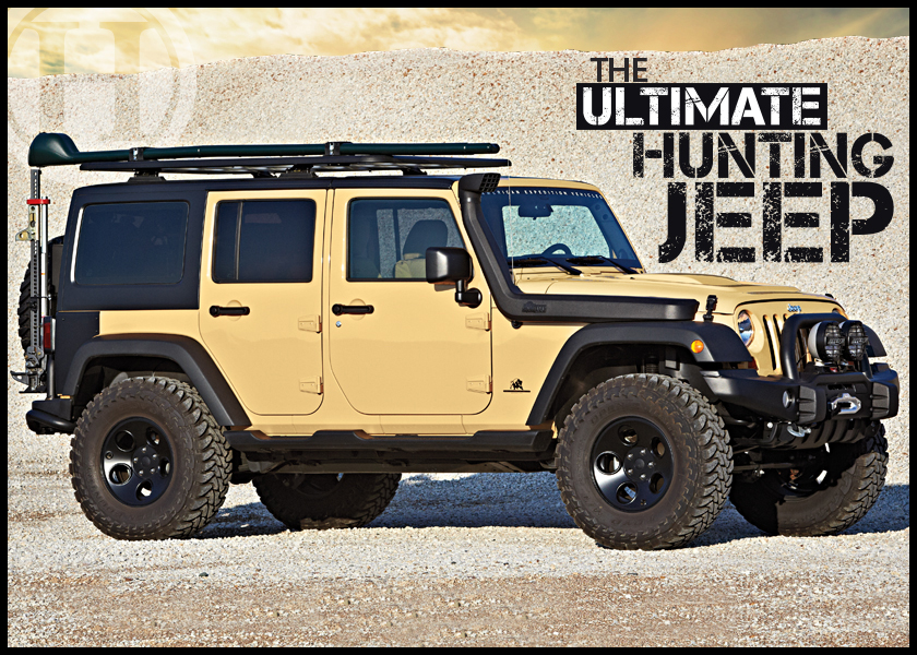 The Ultimate Hunting Jeep