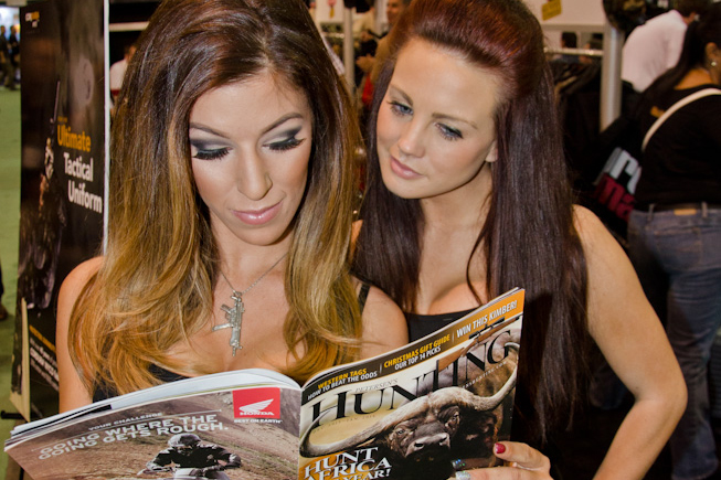 HUNTING's Booth Babes of SHOT Show 2014