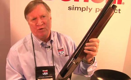 Benelli introduced its newest 12-gauge, semi-auto shotgun at the 2014 SHOT Show in Las Vegas, the