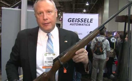 Blaser showed off its newest bolt-action rifle at the 2014 SHOT Show in Las Vegas, the Blaser R8