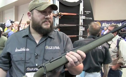CZ-USA was at the 2014 SHOT Show in Las Vegas for the release of its newest rifle, the CZ 550