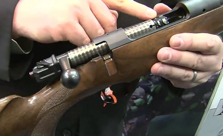Mauser was at the 2014 SHOT Show in Las Vegas to show off its new Mauser M12 bolt-action rifle,