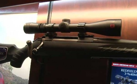 Ruger was at the 2014 SHOT Show in Las Vegas for the release of its updated bolt-action rifle