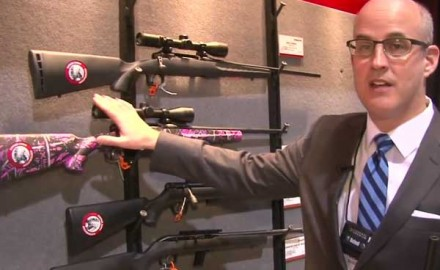Savage Arms was at the 2014 SHOT Show in Las Vegas for the release of its newest rifle, the Savage