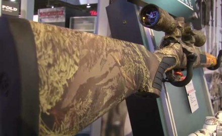 Thompson/Center was at the 2014 SHOT Show in Las Vegas to show off one of its keynote bolt-action