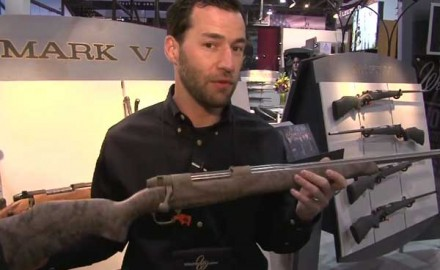 Weatherby introduced one of its newest bolt-action rifles at the 2014 SHOT Show in Las Vegas, the