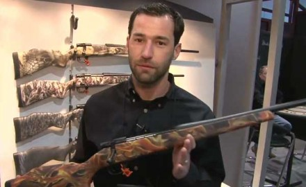 Weatherby introduced its newest rifle in the WBY-X Series at the 2014 SHOT Show in Las Vegas, the