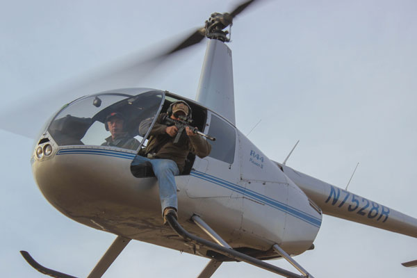 8 Reasons Helicopter Hog Hunting Should be on Your Bucket List