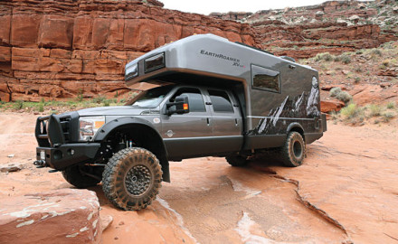 Let's be clear: The EarthRoamer XV-LT is not an RV. It's about as close to an RV as a Ferrari is to