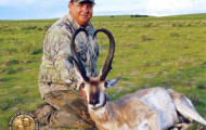 Boone & Crockett Crowns New  World-Record Pronghorn