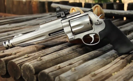 S&W's Tony Miele goes over his weapon of choice for lion hunting — the Performance Center .500.